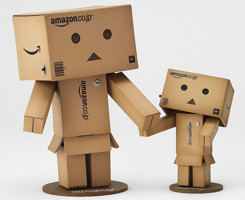 revoltech danbo mini amazon box version. Black Bedroom Furniture Sets. Home Design Ideas