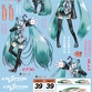 GSR Character Customize Series: Hatsune Miku 1/10 Scale Seal Set 01