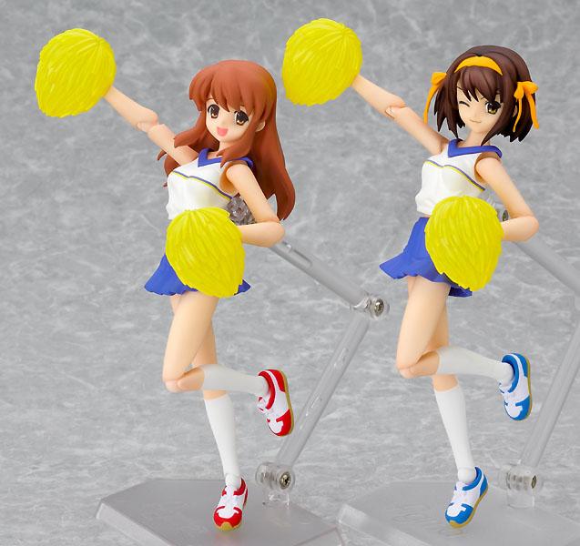 NEW figma 032 The Melancholy of Haruhi Suzumiya Haruhi Suzumiya Cheerleader Ver.