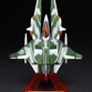 "Vic Viper ""Gradius 2"" - Mika Akitaka ver. Green Color"
