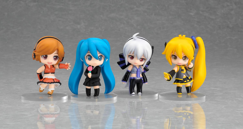 Anime Vocaloid Nendoroid Petit Halloween Ver 10cm Display Changeable Figure