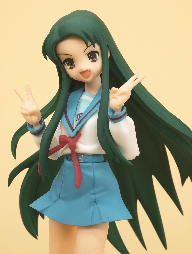 figma 018 Tsuruya-san School Uniform Ver FROM JAPAN The Melancholy of Haru...