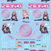 GSR Character Customize Series Sticker Set 005: The Familiar of Zero ~The Princess' Rondo~ - 1/10th Scale