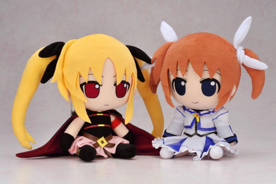 Gift Nendoroid Plus 11 Magical Girl Lyrical Nanoha Fate Testarossa Plush Stuffed