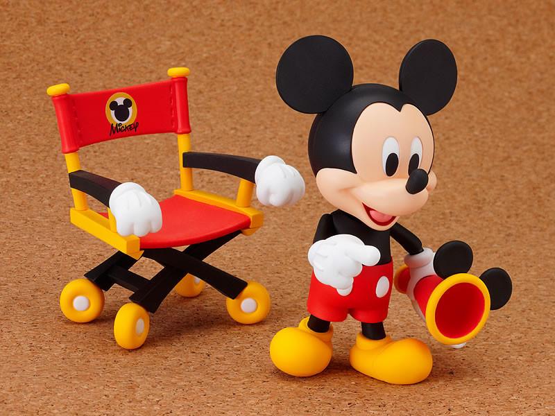 Anime & Manga Nendoroid 100 Mickey Maus Figur Good Smile Company Neu