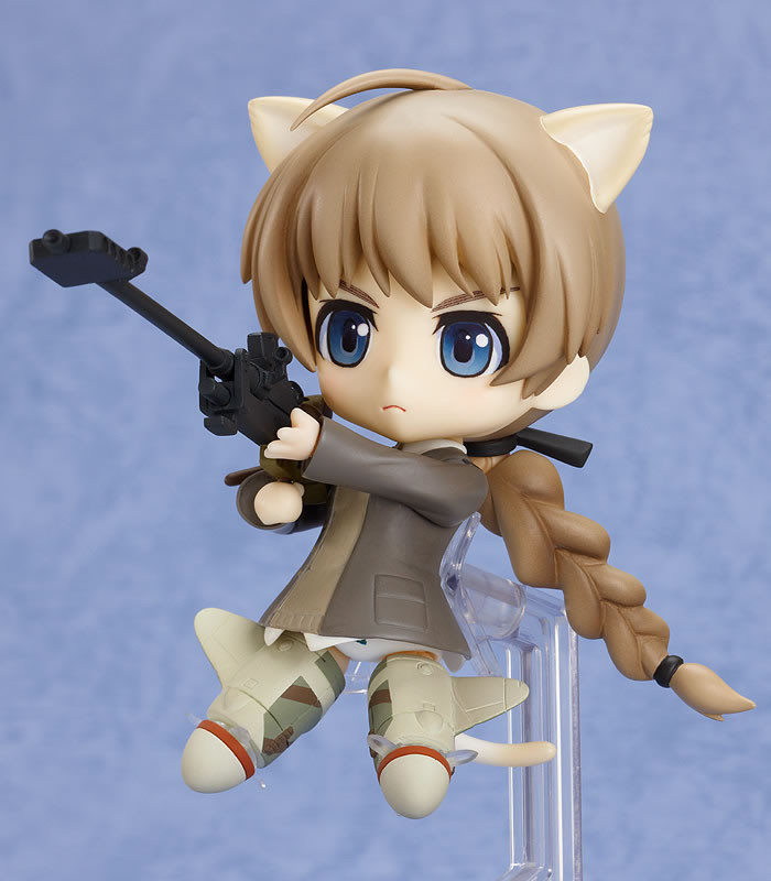 PSP limited Good Smile Nendoroid 229 Strike Witches Lynette Bishop swimsuit ver