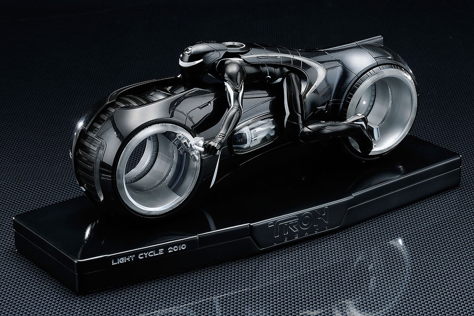 & Light Cycle 2010 Diecast Figure