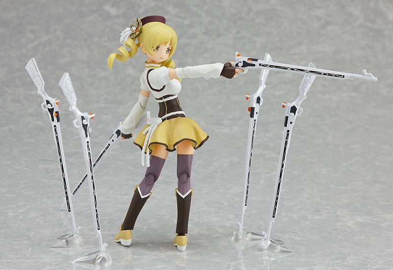USED figma Puella Magi Madoka Magica Tomoe Mami Figure Max Factory