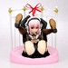 Super Sonico Gothic Maid ver. + Bed Base Set