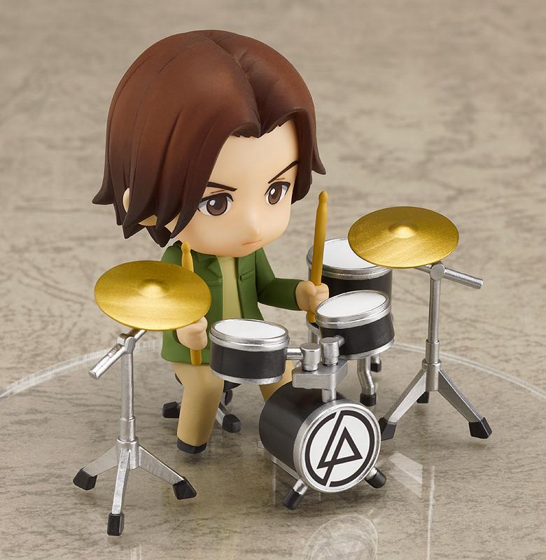ABS /& PVC painted trading movable figure Nendoroid Petit LINKIN PARK set
