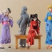 Displayed with other figures in the Fate/stay night Yukata series! (Each sold separately)
