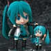 Displayed together with Nendoroid Mikudayo who will be on sale in March 2013! (sold separately)