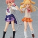 Displayed with her sister, figma Rika Jougasaki! (sold separately)