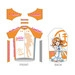 Love Live! Cycling Jersey: Honoka Kousaka Ver.