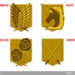 Attack on Gold Stickers: Scouting Legion, Military Police, Stationary Guard, Trainees Squad
