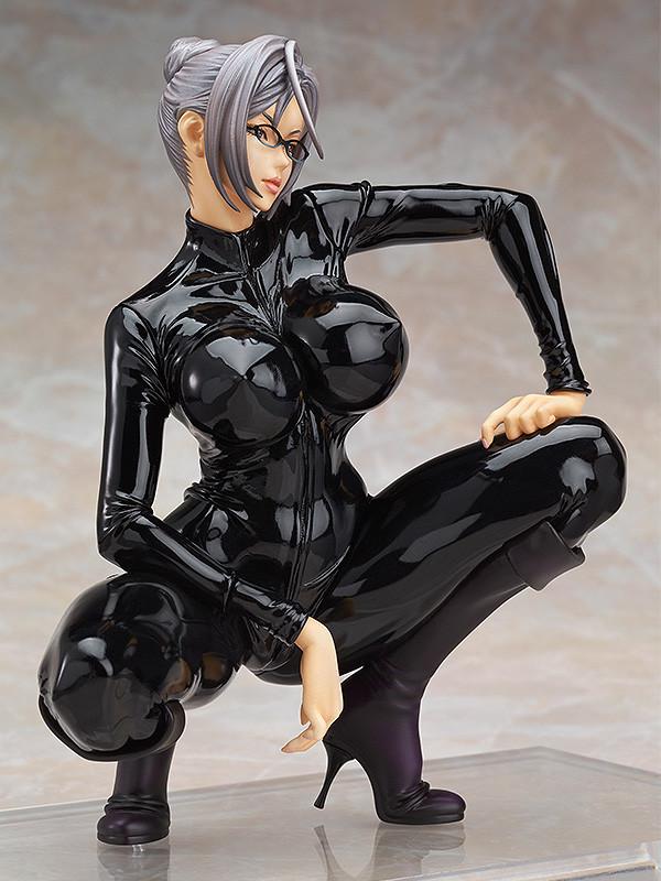 Meiko Shiraki Uniform Version PVC Figure Black Anime Good Smile Prison School