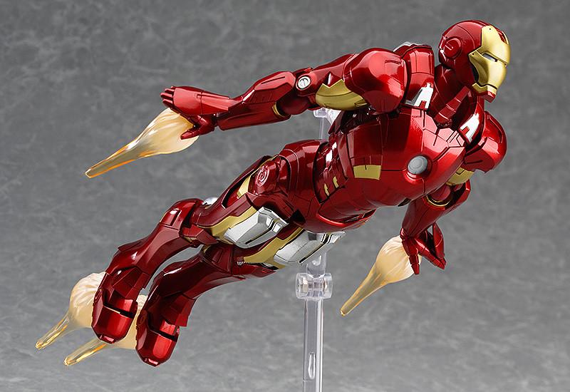 H Iron Manufacturers Mail: Figma Iron Man Mark VII: Full Spec Ver