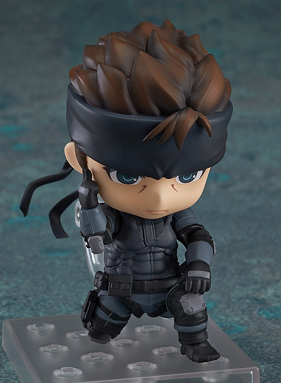 Nendoroid Metal Gear Solid Solid Snake Non Scale ABS /& ATBC-PVC Painted Movable