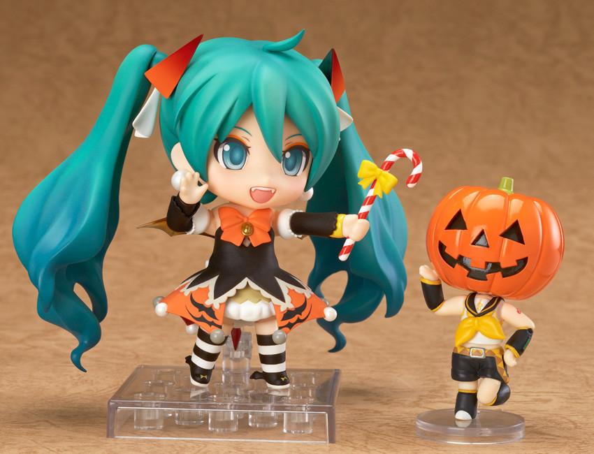 Nendoroid 448 Hatsune Miku Halloween PVC Action Figure Model Toy Gift No Box