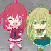 Nendoroid Plus: Inou Battle Within Everyday Life Rubber Straps vol.01