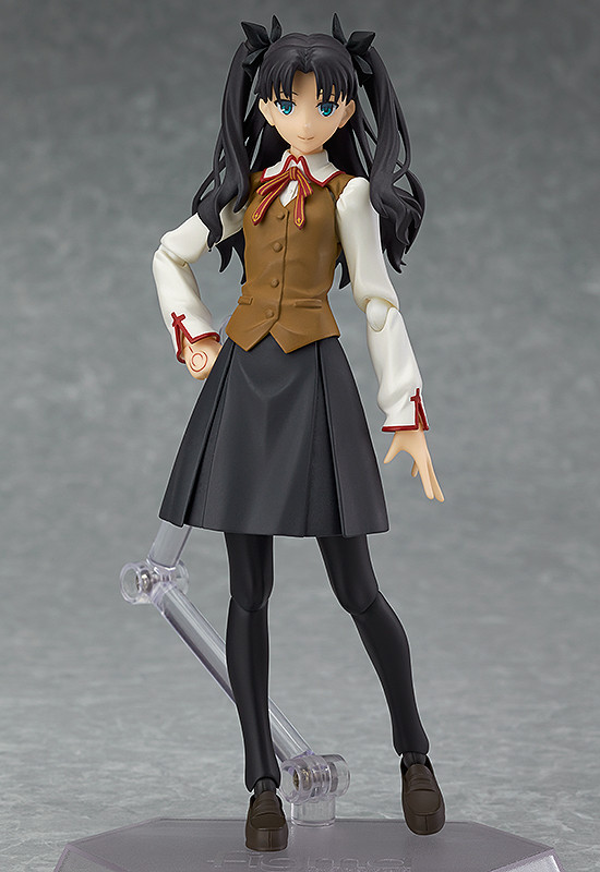 FATE//STAY NIGHT Unlimited Blade Works Rin Tohsaka Ver 2.0 Figma Action Figure