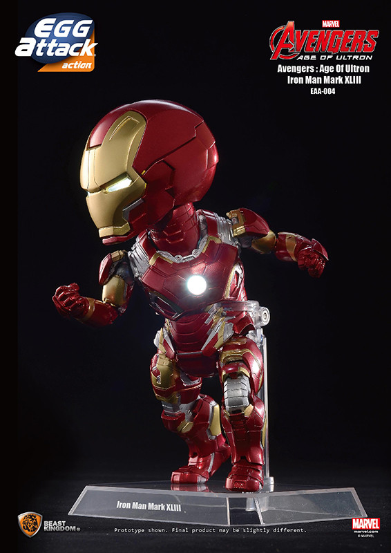 Egg Attack Action Avengers Age Of Ultron Iron Man Mark 43