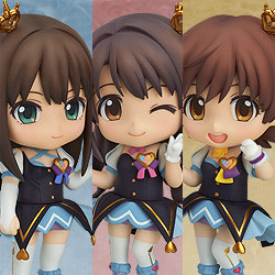 Nendoroid Co-de: Cinderella Girls Rin/Uzuki/Mio Set - My First Star Co-de