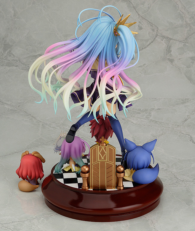 Anime Figure Jouets No Game No Life Shiro Figurine Statues 7cm