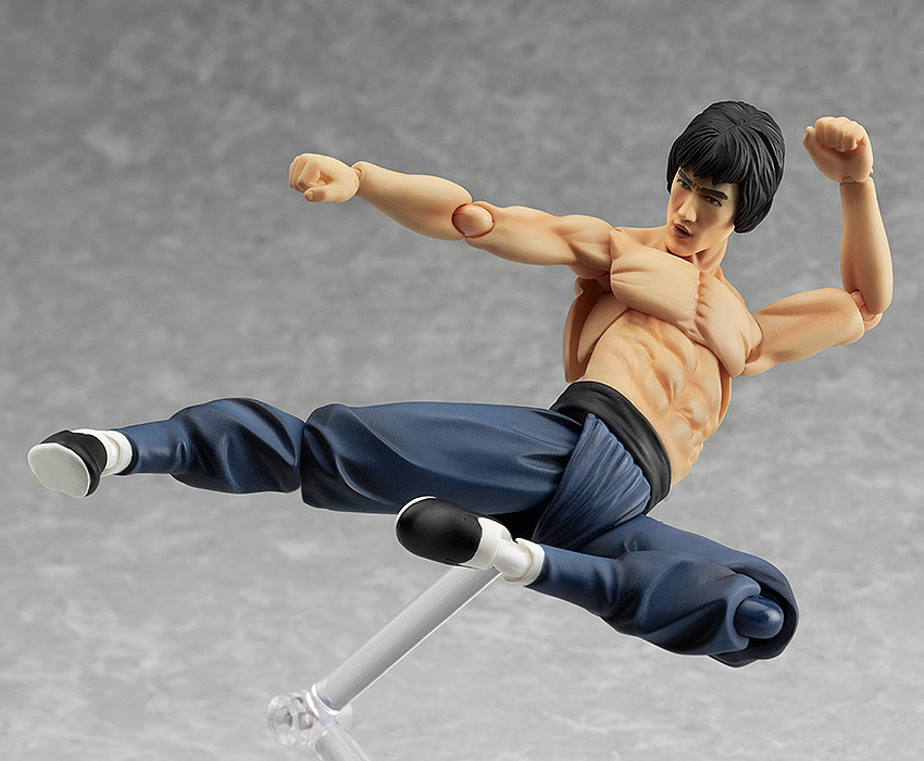 Max Factory Bruce Lee Figma Action Figure no 266