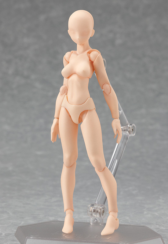 FIGMA ARCHETYPE Flesh Color Ver Figma Action Figure # 01 Max Factory He
