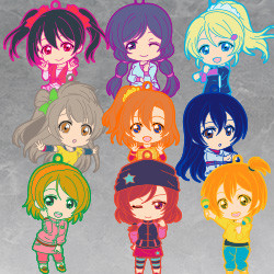 Nendoroid Plus Trading Rubber Straps: LoveLive! 03