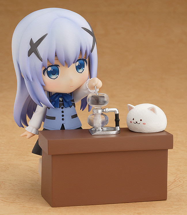 Chiya Figure Official Good Smile Company #973 Nendoroid Is the Order a Rabbit?