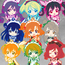 Nendoroid Plus Trading Rubber Straps: LoveLive! 04