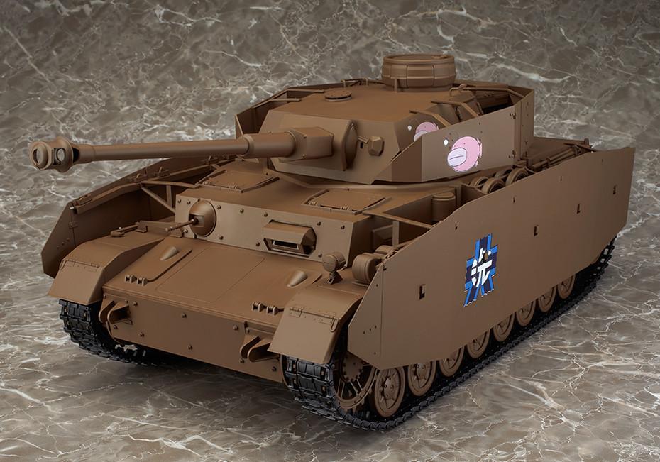 H D-Spec 1//12 Model Max Factory figma Vehicles Girls und Panzer Panzer IV Ausf
