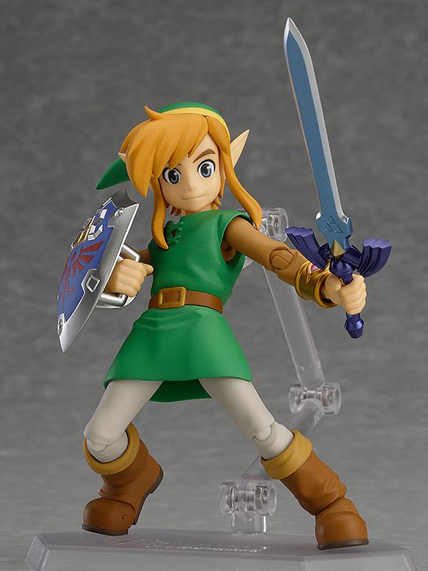 Good Smile Company Legend of Zelda Link Between Worlds Figma Deluxe Action Figur