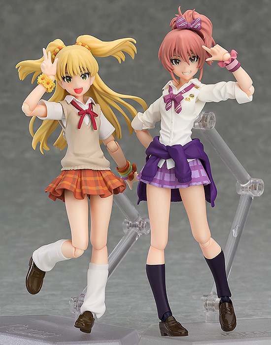 Mika Jougasaki 346 Production Ver Figma Action Figure # 286 IDOLMASTER