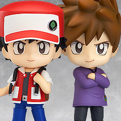 Nendoroid Pokémon Trainer Red & Green