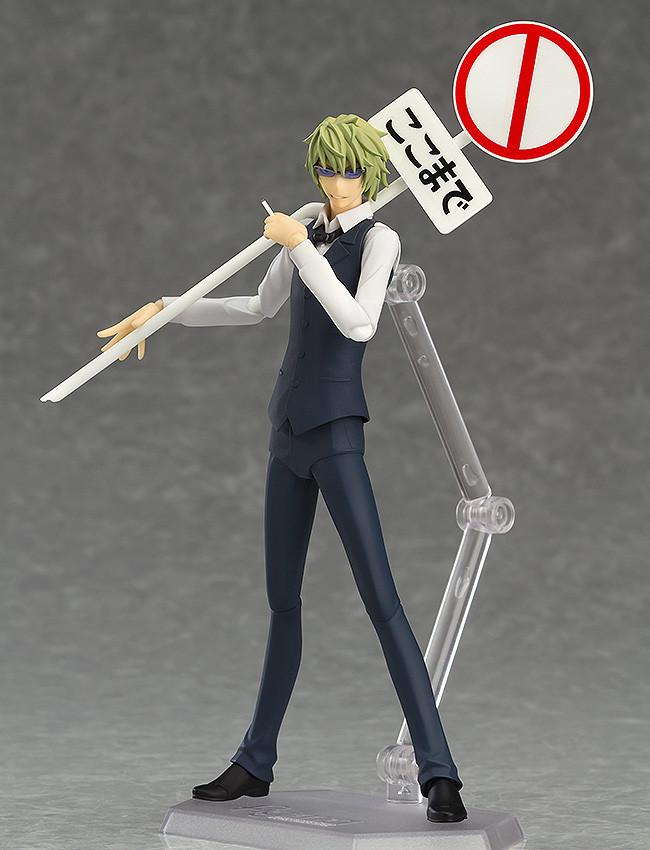 x2 SHIZUO HEIWAJIMA Action Figure ORANGE ROUGE NEW Japan figma 288 Durarara!