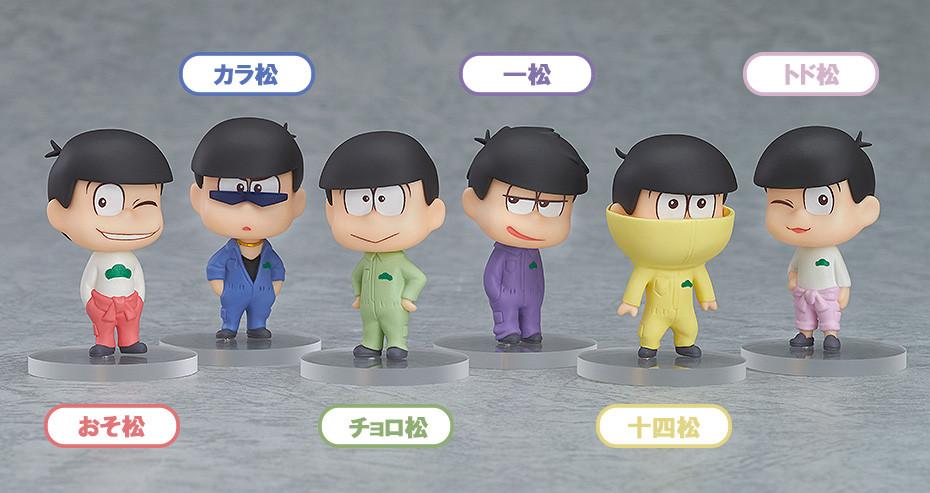 Choromatsu Jyushimatsu EACH Osomatsu-san Nendoroid series