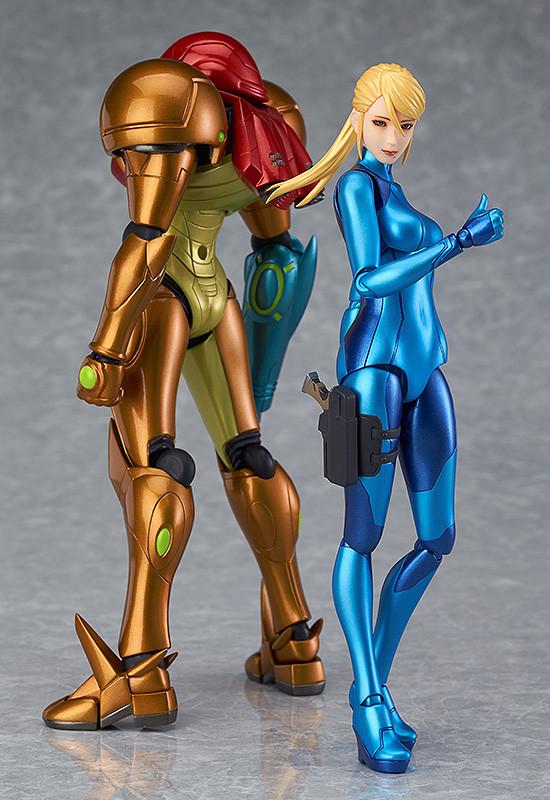 Figma Action Figure # 306 Max Factory Samus Aran Zero Suit Ver METROID