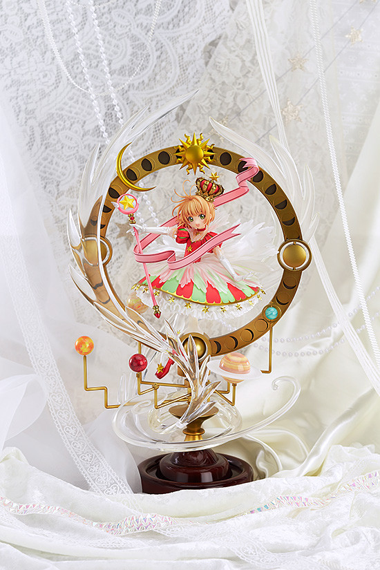 Card Captor Sakura Kinomoto 15th Anniversary Stars Bless Figure Figurine New