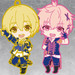 Nendoroid Plus: TSUKIUTA. THE ANIMATION - Collectible Rubber Straps