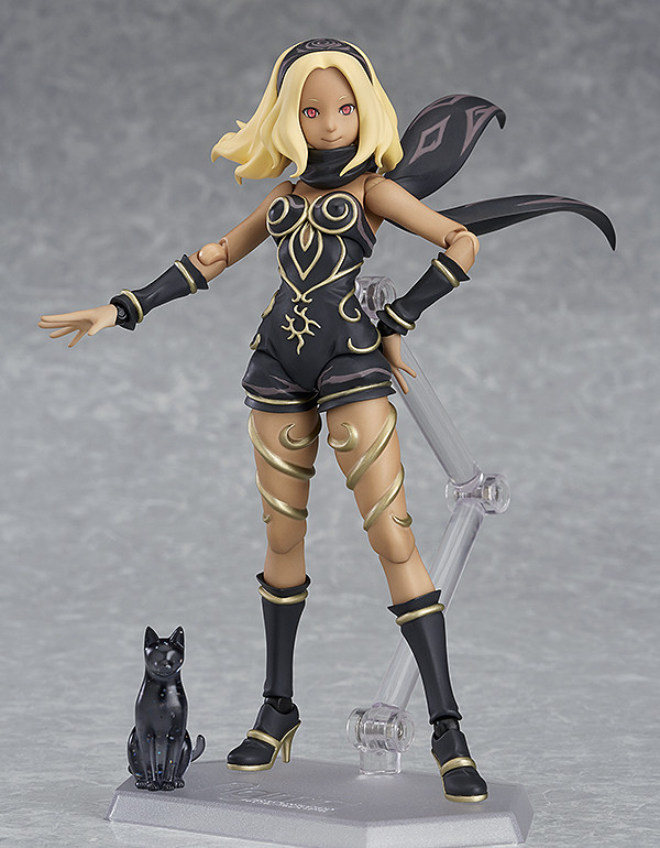 figma Gravity Kat Raven GRAVITY RUSH 2 adventure game action figure Max Factory