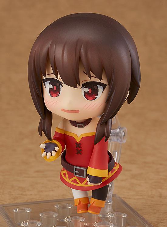 Anime Nendoroid 725 Megumin PVC Action Figure Figurine New Toy Gift Boxed