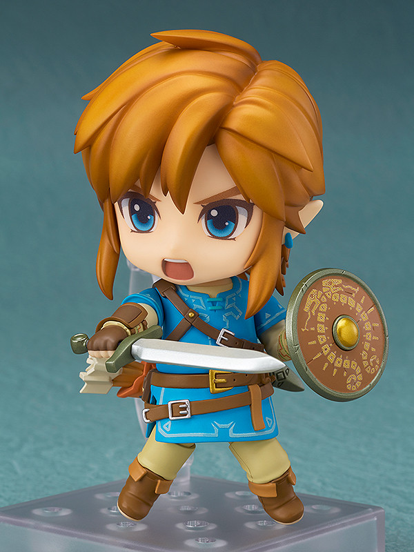 The Legend of Zelda Breath of the Wild Link 733-DX Nendoroid With Box Figure New
