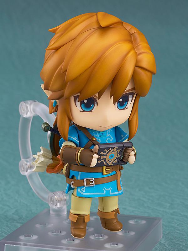 Deluxe Version Nendoroid Link Good Smile The Legend of Zelda Breath of the Wild