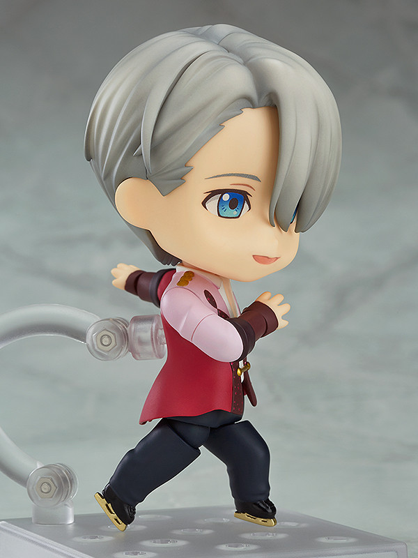 on ICE Victor Nikiforov PVC Action Figure With Box Nendoroid 741 Anime YURI!!