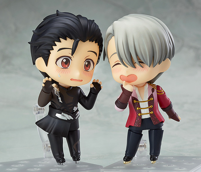 on ICE Victor Nikiforov PVC Figure Toy New In Box Nendoroid 741 Anime YURI!!