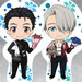 Nendoroid Plus Dress Up Acrylic Key Ring: YURI!!! on ICE (Yuri Katsuki / Victor Nikiforov / Yuri Plisetsky)