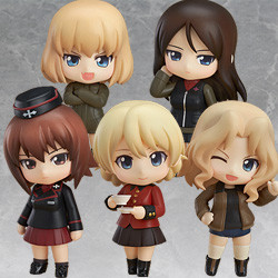 Nendoroid Petite: GIRLS und PANZER - Other High Schools Ver.